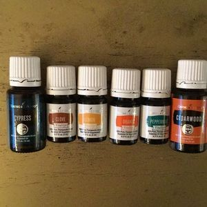 New Young Living Essential oils